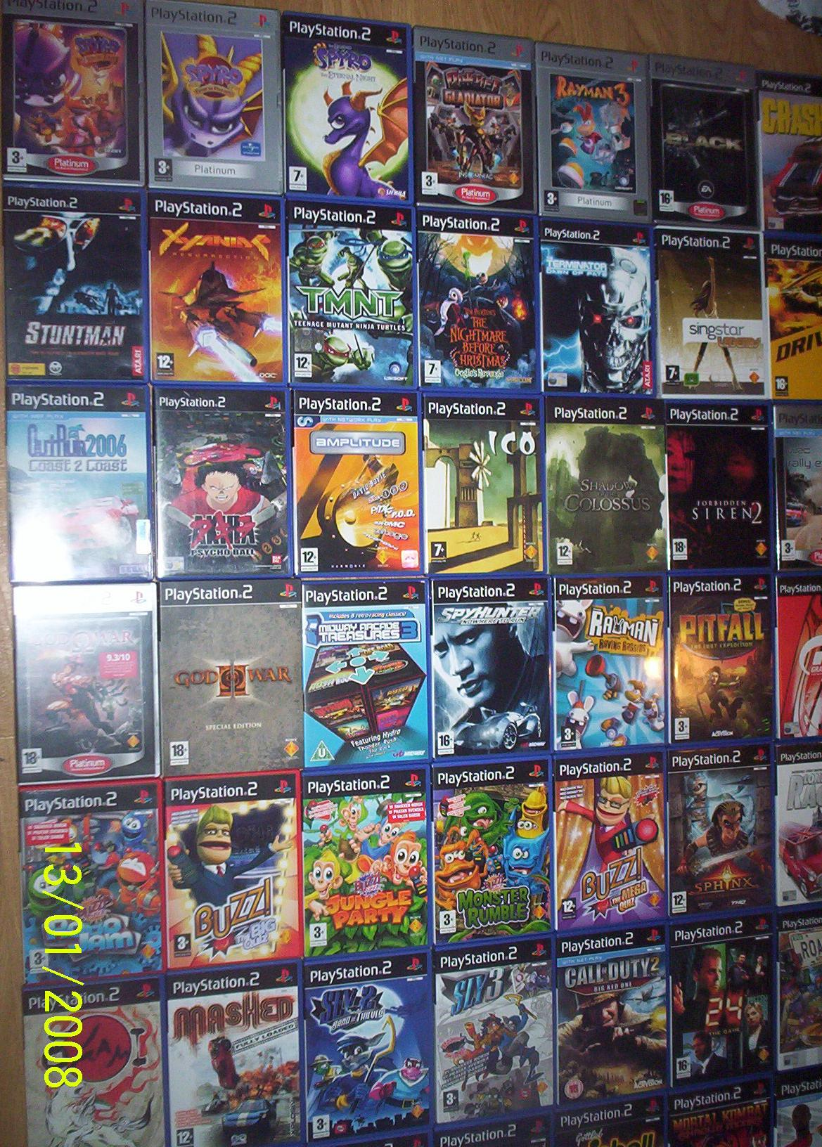 list of playstation 2 games