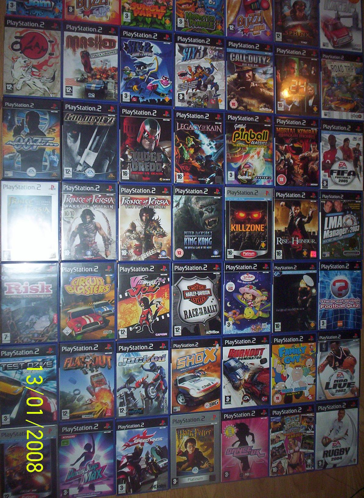 Used Playstation 2 Games For Sale