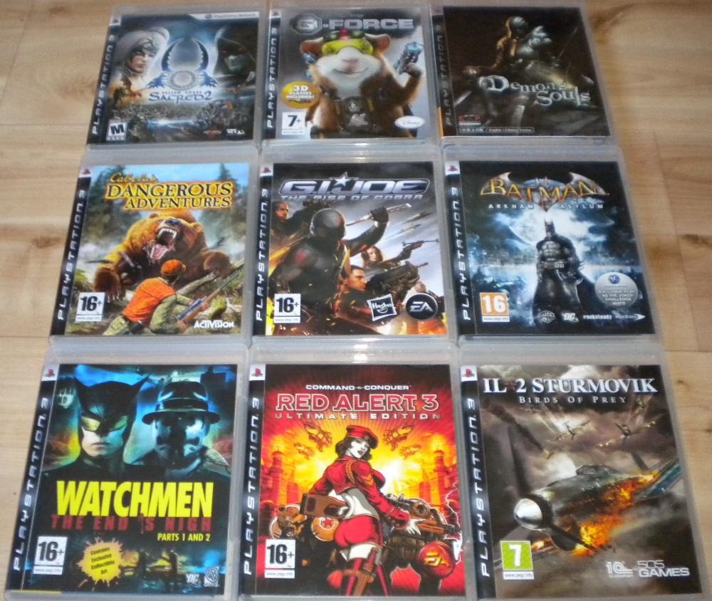 List Of all Ps3 games